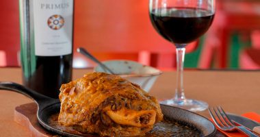 Roasted Lamb Shoulder in Wine